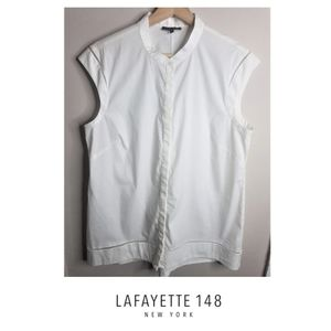 Lafayette 148 New York Sleeveless Blouse